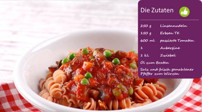BodyChange-Pasta mit Tomaten-Sugo