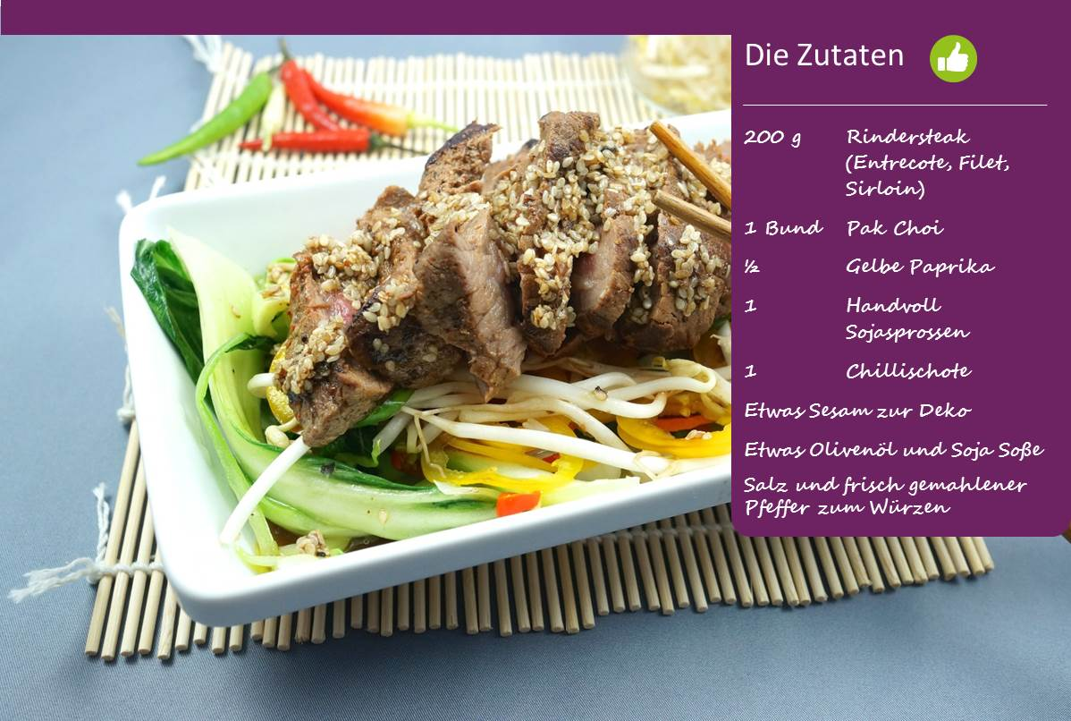 Bodychange Steak-Salat