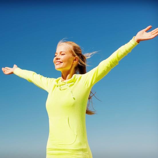 Bewegung und frische Luft