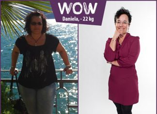 Daniela nach 26 kg ab