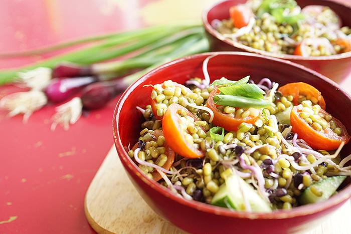 Mungobohnensalat