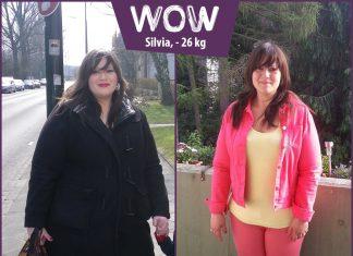 Silvias Abnehmerfolg von 26 kg