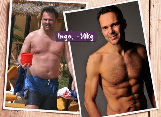 Ingo im vorher-nachher-Vergleich