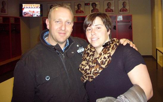 Jens und Carina vor BodyChange