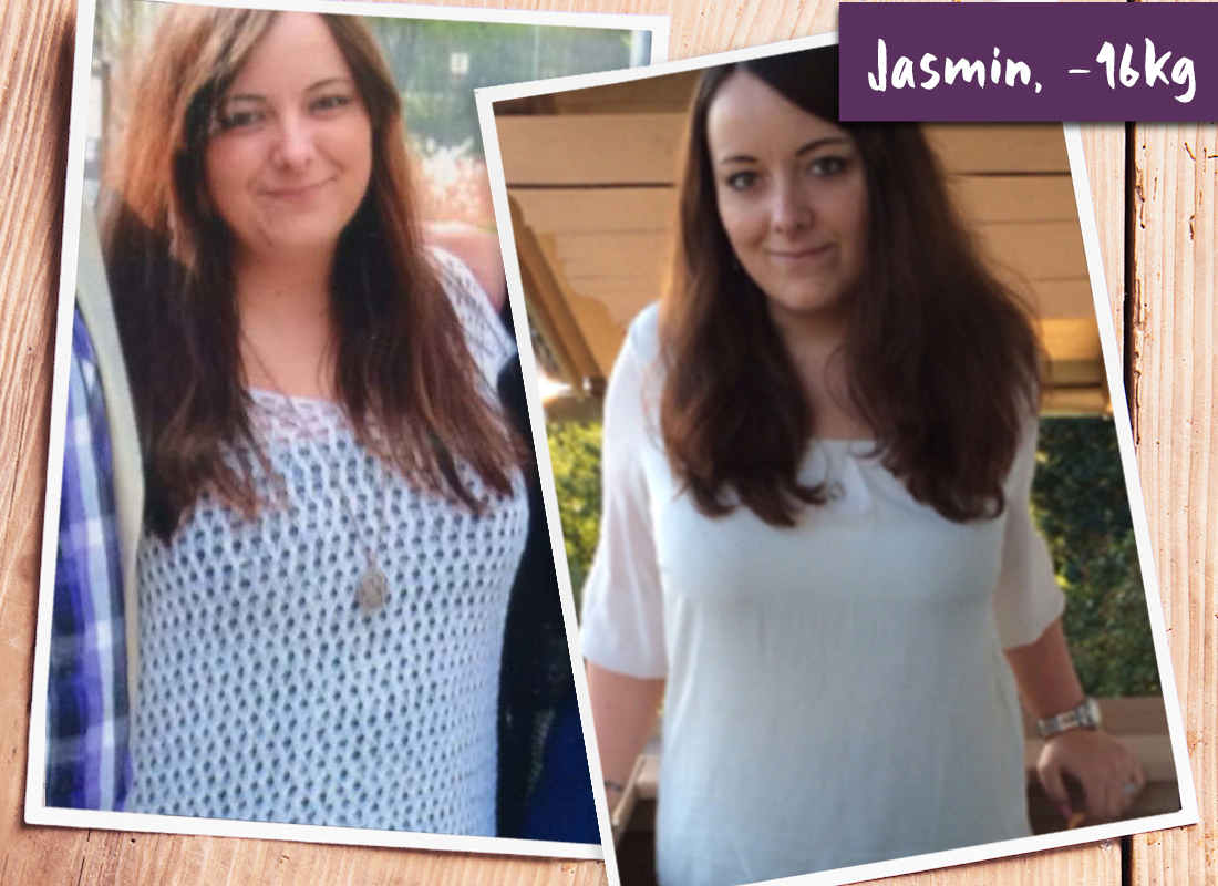 Jasmins Abnehmerfolg von 16 kg