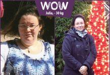 Julia hat unglaubliche 30 kg abgenommen