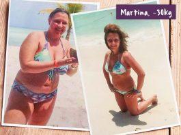 Martinas Bikinifigur nach Abnehmerfolg