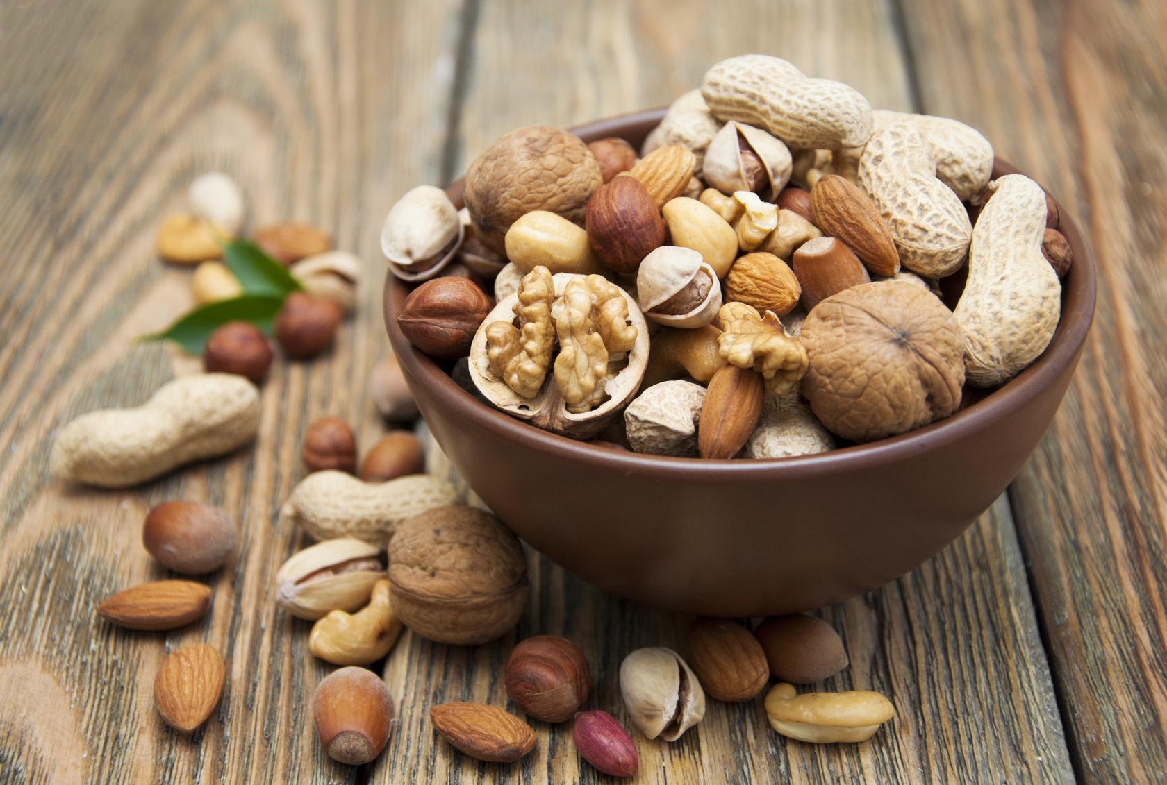 Vorteile von Nüssen zum Abnehmen