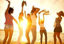 Sommerspaß am Strand