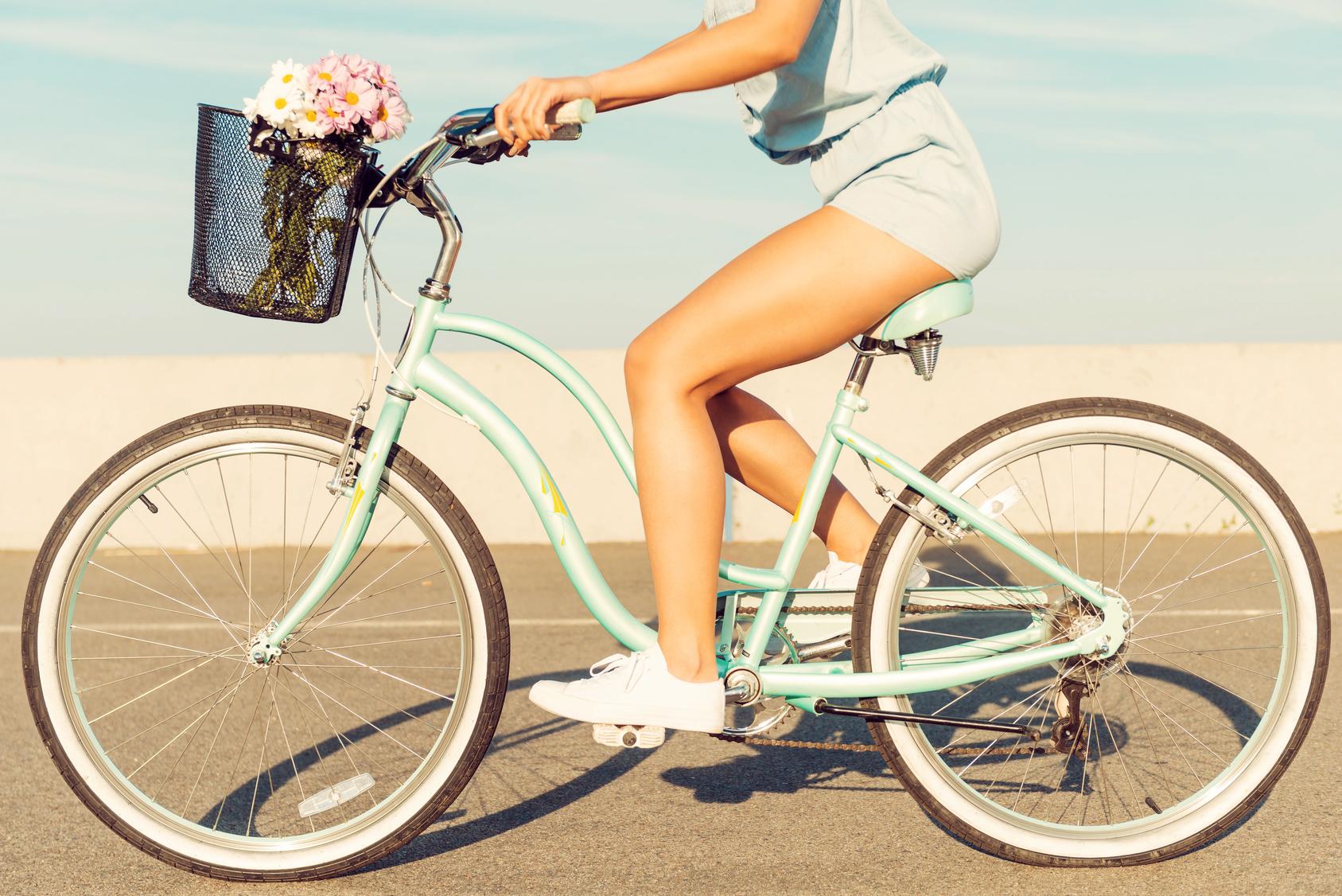 Fit durchs Fahrrad fahren