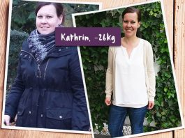 Kathrin ist glücklich mit ihrer neuen Figur nachdem sie 26 kg abgenommen hat