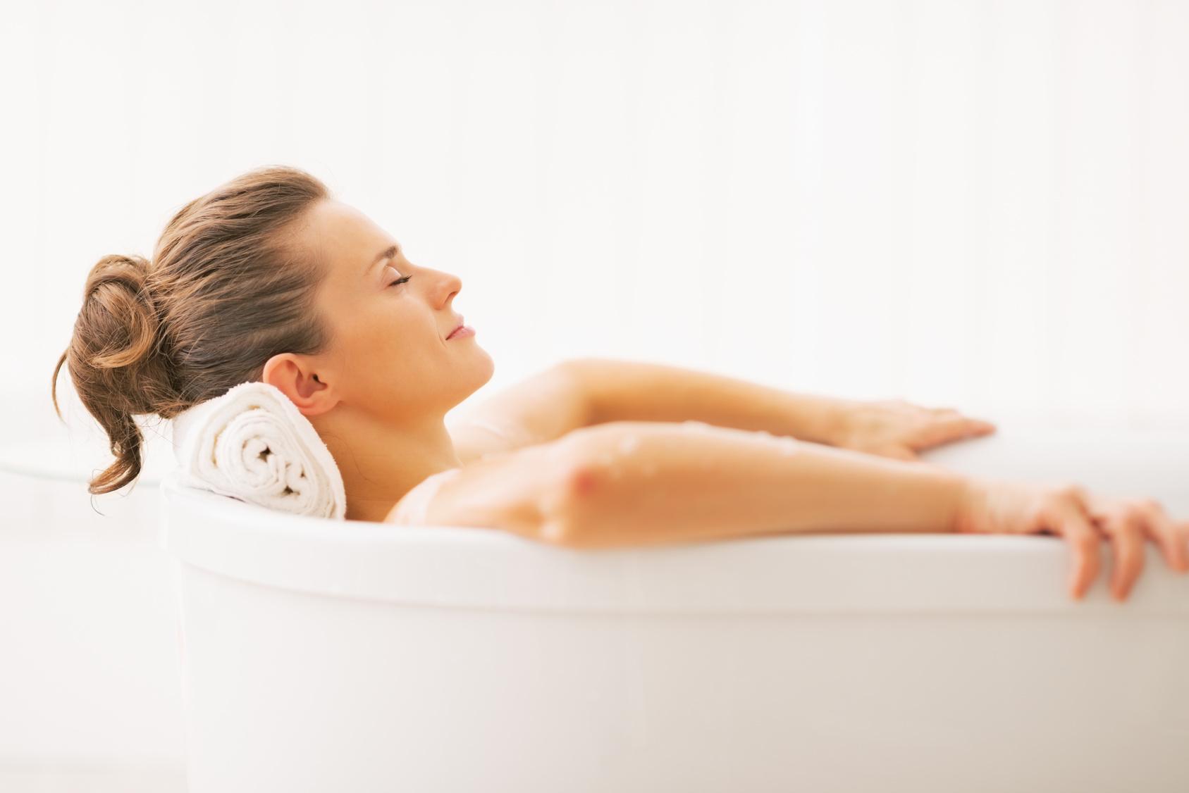 Heißes Bad hilft bei Muskelkater