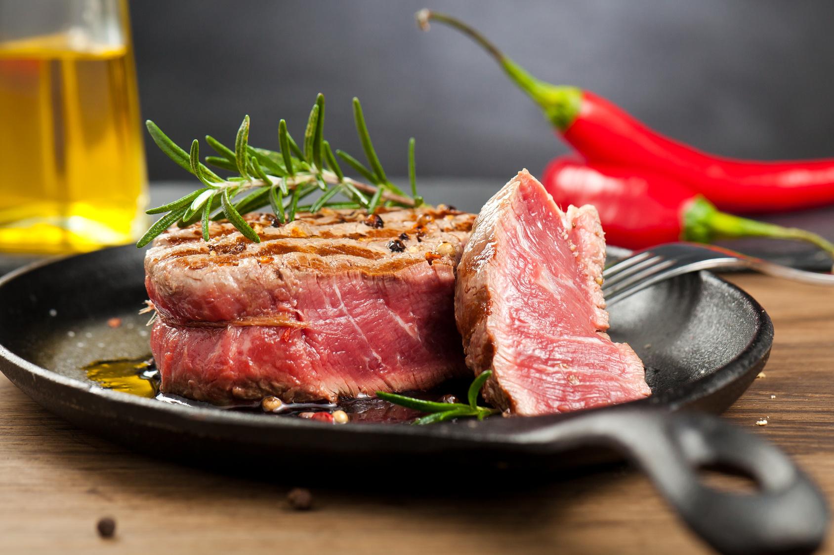 Steakfleisch