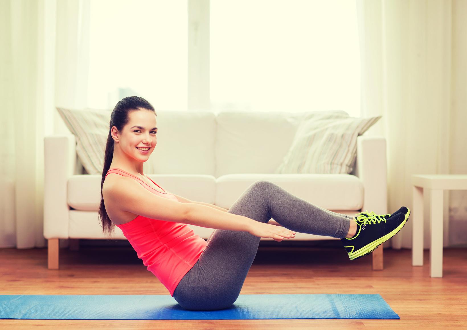 BodyChange Workout für einen flachen Bauch