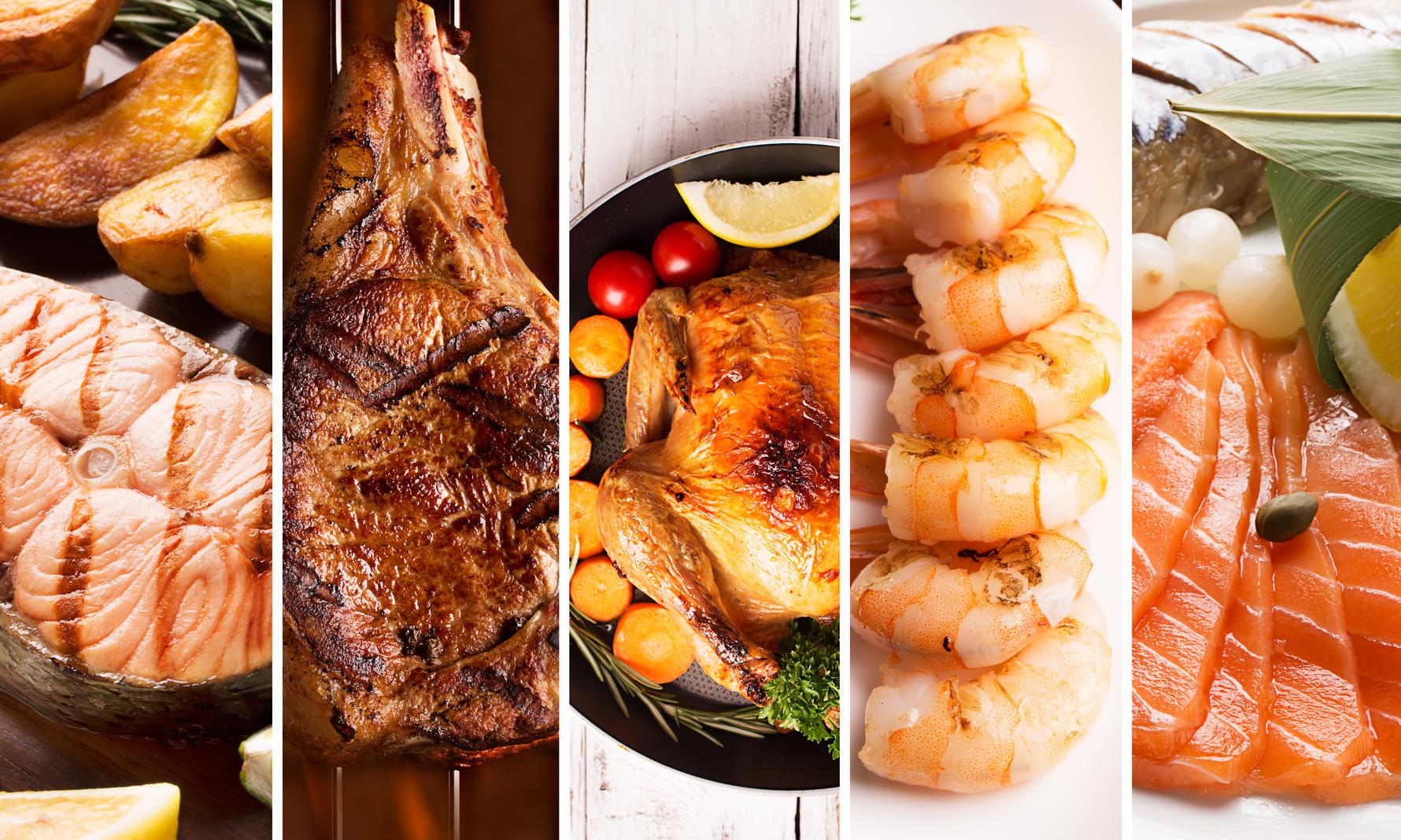 Beim Grillen abnehmen: Fisch und Fleisch zum Grillen