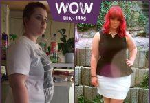 BodyChangerin Lisa passen ihre alten Kleider wieder