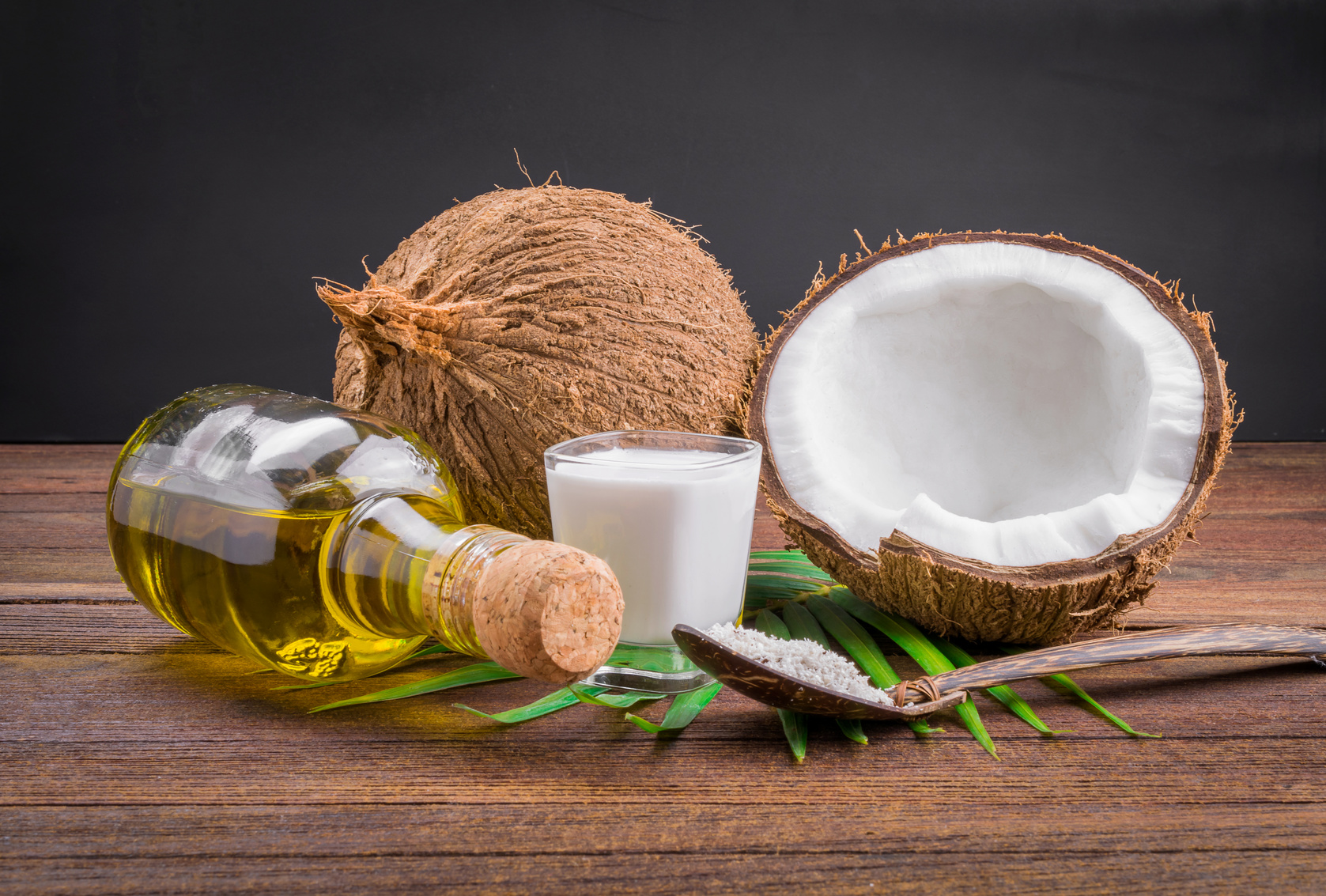 Kokosnuss zum Abnehmen