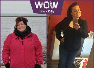 BodyChangerin Tina Vorher-Nachher-Vergleich -15 kg
