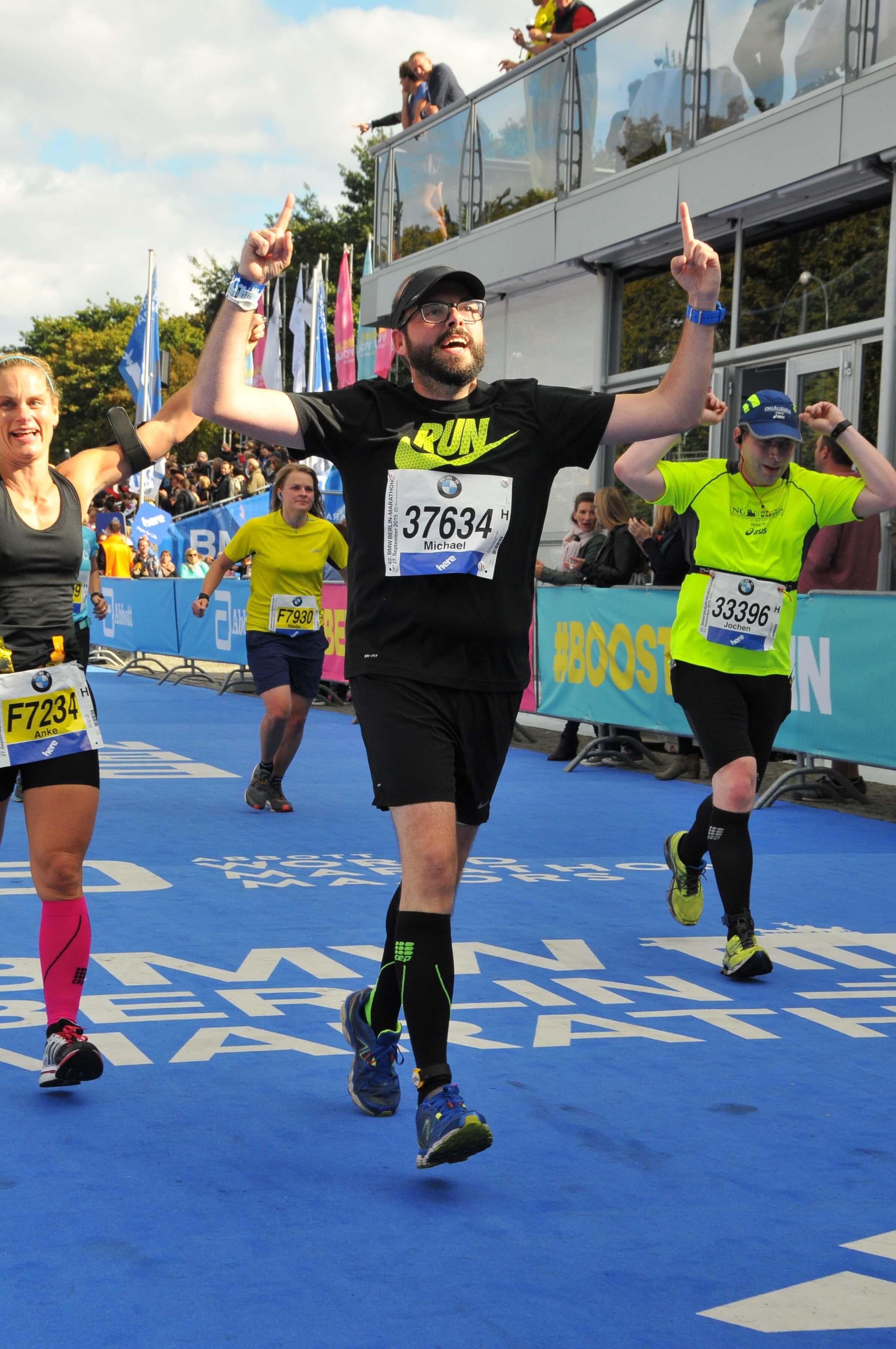 BodyChanger Michael läuft den Berlin-Marathon