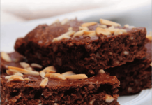 BodyChange Schoko-Brownies mit Mandeln