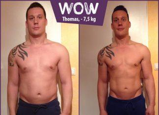 Thomas hat nach BodyChange einen trainierten Oberkörper