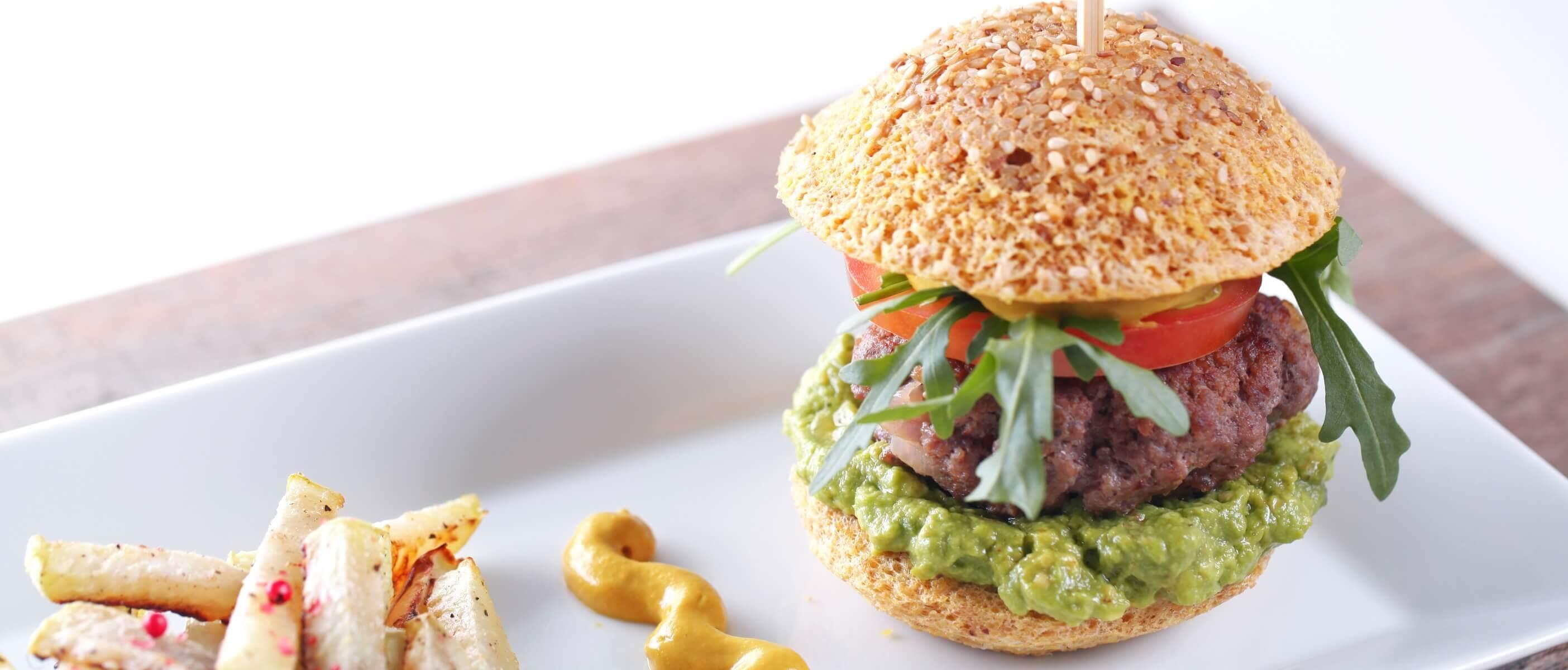 Für BodyChanger gibt es auch leckere Burger!