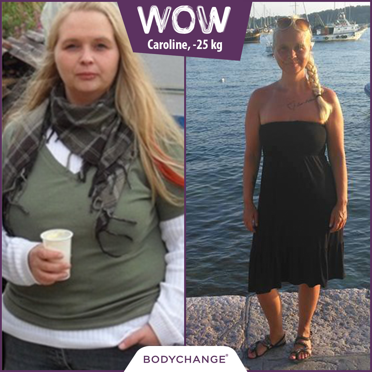 Caroline 25 Kg Abnehmen Und Gesundheit Starken Bodychange