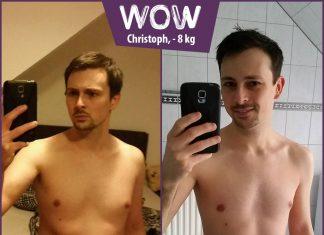 Christoph macht ein Selfie vor dem Spiegel