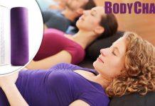 Anwendung der BodyChange Faszienrolle