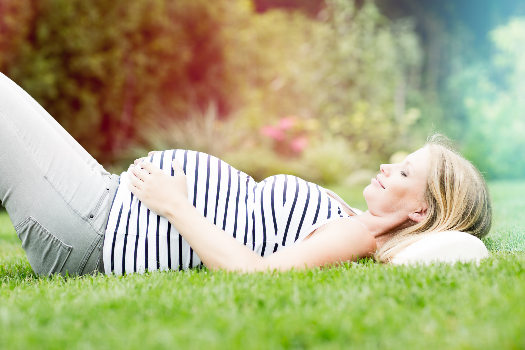 abnehmen hüfte nach schwangerschaft