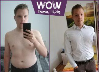 Thomas hat mit BodyChange über 10 kg abgenommen