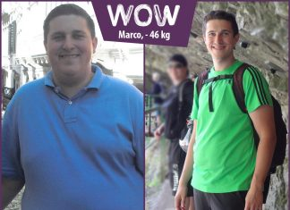 Marco im Vorher-Nachher-Vergleich