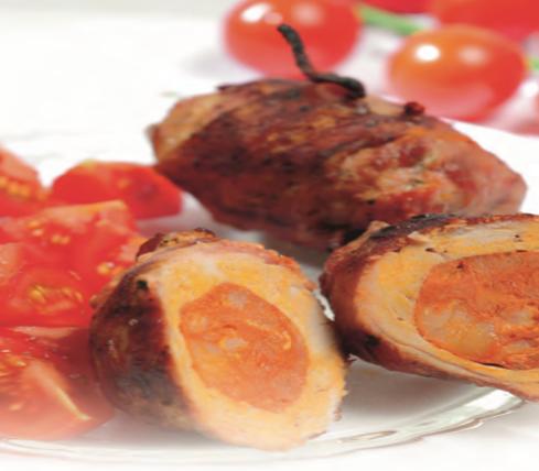 Spanische Chorizo Röllchen