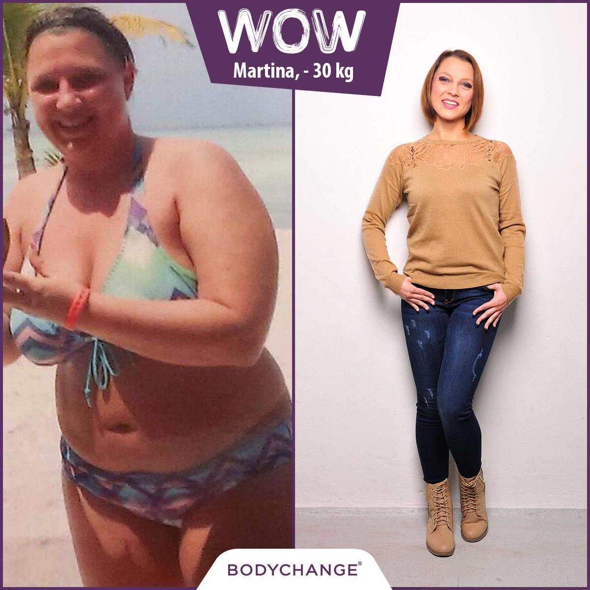 Martina hat es geschafft mit BodyChange 30kg abzunehmen