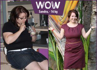 Sandra hat 16kg abgenommen