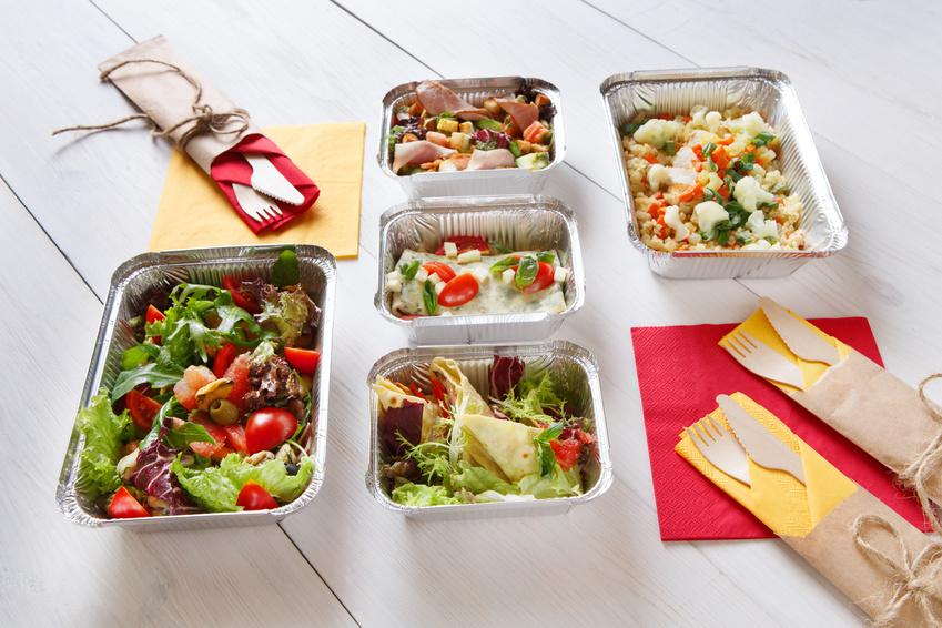 gesundes mittagessen. lunch