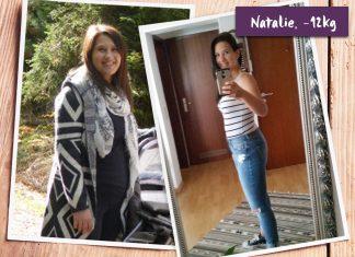 Natalie im vorher-nachher-Vergleich