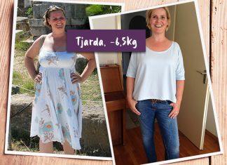 Tjarda im sommerlichen Kleid und Zuhause