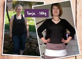 Tanja im Vorher-Nachher-Vergleich