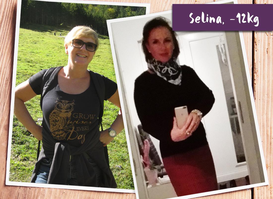 Selina im vorher-nachher-Vergleich