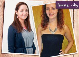 Tamara im Vorher-Nachher-Vergleich