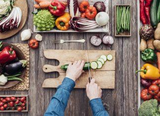 Zubereitung von Gemüse