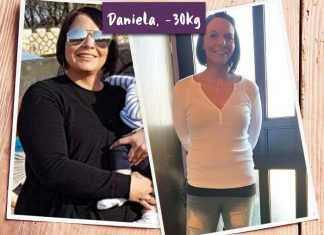 Daniela vor und nach BodyChange