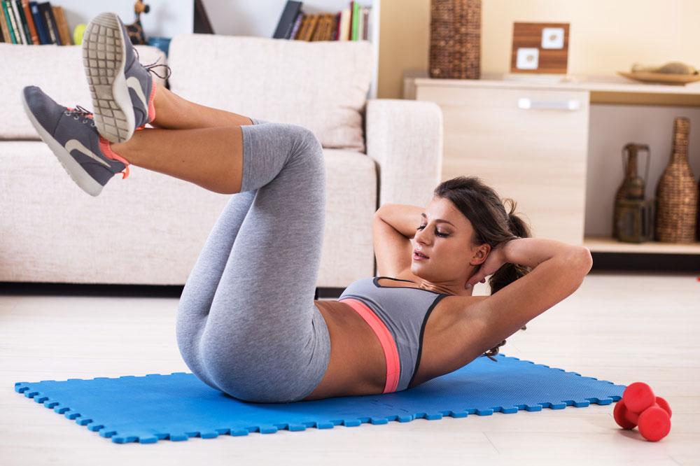 Mit Bauchübungen schnell abnehmen