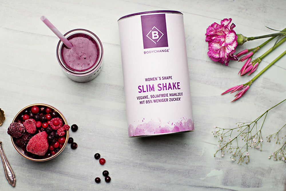Bodychange Slim Shake mit Beeren