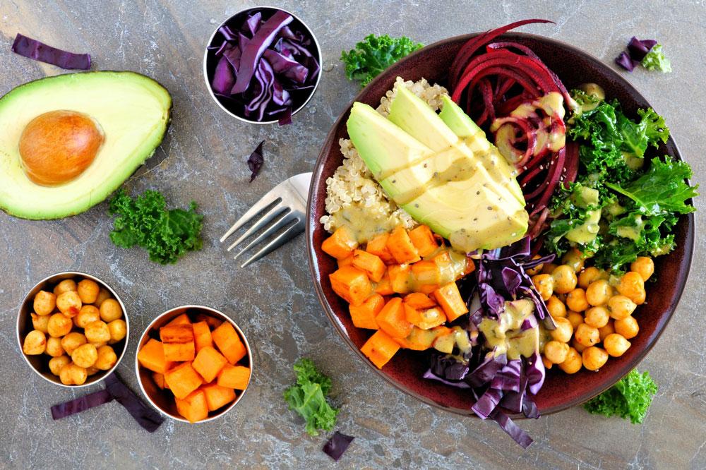 mit veganer Ernährung abnehmen